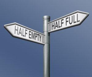 half full or empty